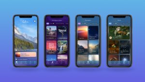 Calm - one of the best meditation and mindfulness apps in 2021!